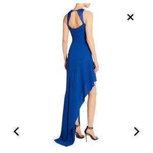 💙 Halston heritage blue asymmetrical dress